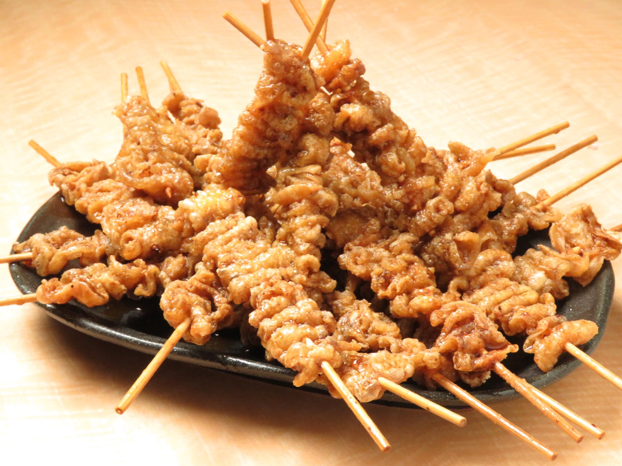 鶴見の鶏料理専門店[とりいちず]の絶品とり皮
